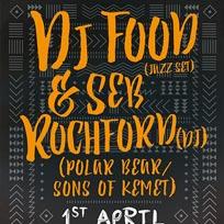 DJ Food +Seb Rochford at Archspace on Saturday 1st April 2017