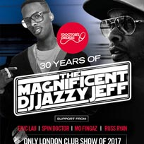 DJ Jazzy Jeff at Secret Location on Saturday 4th November 2017