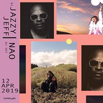 DJ Jazzy Jeff's House Party at Electric Brixton on Friday 12th April 2019