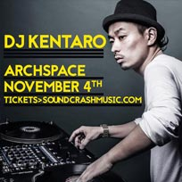 DJ Kentaro at Archspace on Saturday 4th November 2017