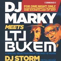 DJ Markey Meets LTJ Bukem at Electric Brixton on Friday 17th March 2017