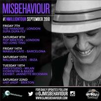 DJ Misbehaviour at Chip Shop BXTN on Saturday 22nd September 2018