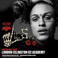 Arrival w/ Lil Skies at Islington Academy on Wednesday 30th May 2018