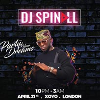 DJ Spinall at XOYO on Sunday 21st April 2019