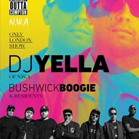 DJ Yella at Big Chill House on Saturday 30th July 2016