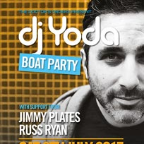 DJ Yoda Boat Party at Temple Pier on Saturday 8th July 2017