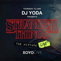 Stranger Things - The Mixtape Live at XOYO on Thursday 15th June 2017