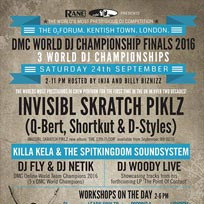 DMC World DJ Finals 2016 at The Forum on Saturday 24th September 2016