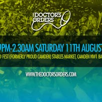 The Doctor's Orders 13th Birthday at FEST Camden on Saturday 11th August 2018