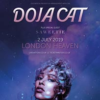 Doja Cat at Heaven on Tuesday 2nd July 2019