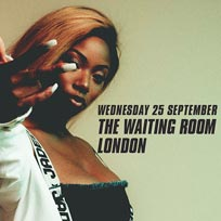 Dolapo at The Waiting Room on Wednesday 25th September 2019