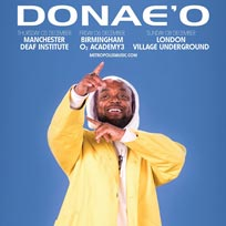 Donae'O at Village Underground on Sunday 8th December 2019