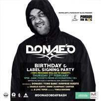 Donae'O at Notting Hill Arts Club on Thursday 2nd February 2017