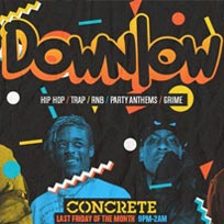 Downlow at Concrete on Friday 24th May 2019