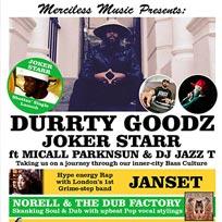 Durrty Goodz + More at Hootananny on Saturday 14th May 2016