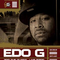 Edo G at Chip Shop BXTN on Sunday 22nd September 2019