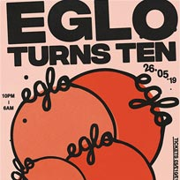 Eglo Records Bank Holiday Special at Corsica Studios on Sunday 26th May 2019