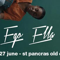 Ego Ella May at St. Pancras Old Church on Wednesday 27th June 2018