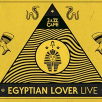Egyptian Lover at Jazz Cafe on Friday 1st March 2019