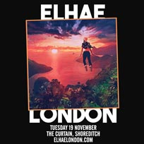 Elhae at The Curtain on Tuesday 19th November 2019
