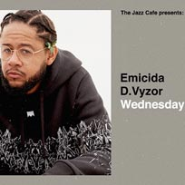 Emicida at Jazz Cafe on Wednesday 24th July 2019