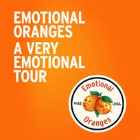 Emotional Oranges at Heaven on Monday 28th October 2019