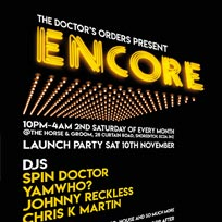 Encore at Horse & Groom on Saturday 10th November 2018