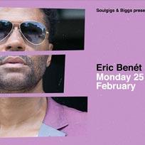 Eric Benét  at Jazz Cafe on Monday 25th February 2019