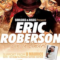 Eric Roberson at Islington Assembly Hall on Sunday 22nd April 2018