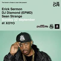 Erick Sermon at XOYO on Sunday 22nd September 2019