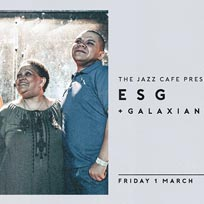 ESG at Jazz Cafe on Friday 1st March 2019