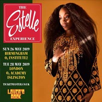 Estelle at Islington Academy on Tuesday 28th May 2019