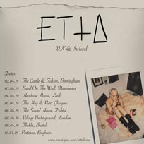 Etta Bond at Village Underground on Monday 8th April 2019