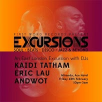 Excursions at Ace Hotel on Friday 24th February 2017