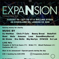 Expansion at Rolling Stock on Sunday 19th August 2018
