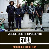 Ezra Collective at Islington Assembly Hall on Sunday 19th November 2017