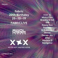 AWOL Halloween Party at Fabric on Friday 25th October 2019