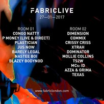 FabricLive w/ P Money at Fabric on Friday 27th January 2017