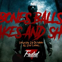 Bones, Balls, Shakes & Shots at All Star Lanes on Saturday 29th October 2016