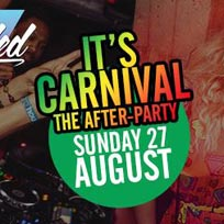Carnival After-Party at Junction House on Sunday 27th August 2017