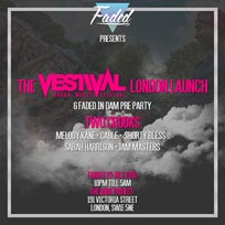 Faded x Vestival London Launch  at The Qube Project on Friday 29th July 2016