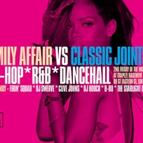 Family Affair X Classic Joints at Trapeze on Friday 13th May 2016