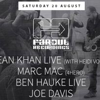 Far Out Recordings at Jazz Cafe on Saturday 20th August 2016