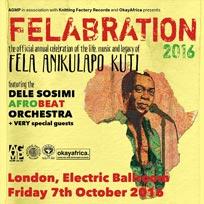 Felabration 2016 at Electric Ballroom on Friday 7th October 2016