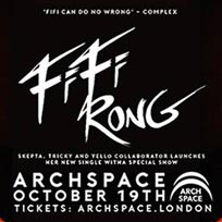 Fifi Rong - Single Launch Party at Archspace on Thursday 19th October 2017