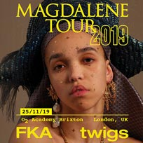 FKA Twigs at Brixton Academy on Monday 25th November 2019