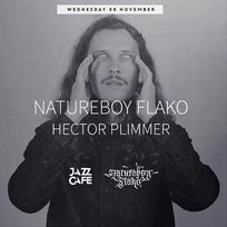 Natureboy Flako at Jazz Cafe on Wednesday 8th November 2017