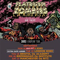 Flatbush Zombies at KOKO on Monday 12th September 2016
