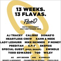 Flava D at XOYO on Friday 24th August 2018