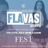 Flavas at FEST Camden on Friday 27th July 2018